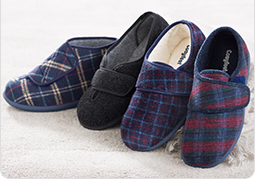Men's Wide Fitting Slippers