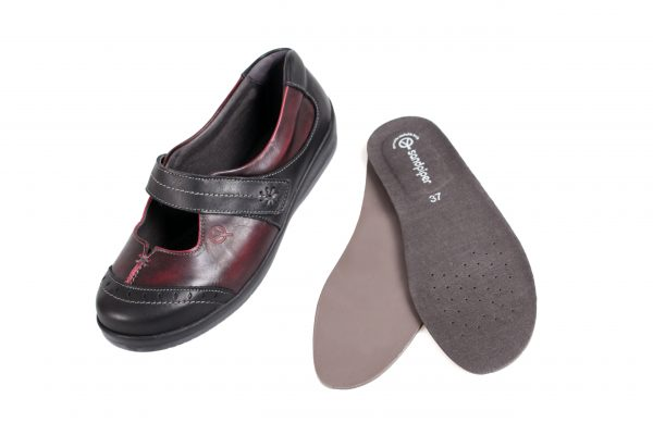 Sandpiper Filton 3in1-insoles ladies wider fitiing shoe