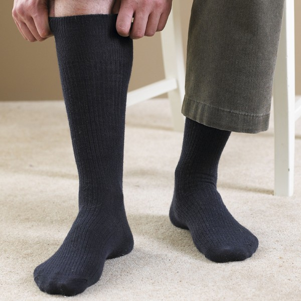 Wool-rich Knee High Socks and Extra Roomy Socks