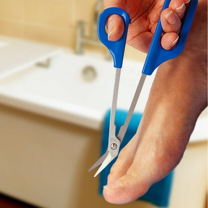 Long Handled Toe Nail Scissors and Toe Aids