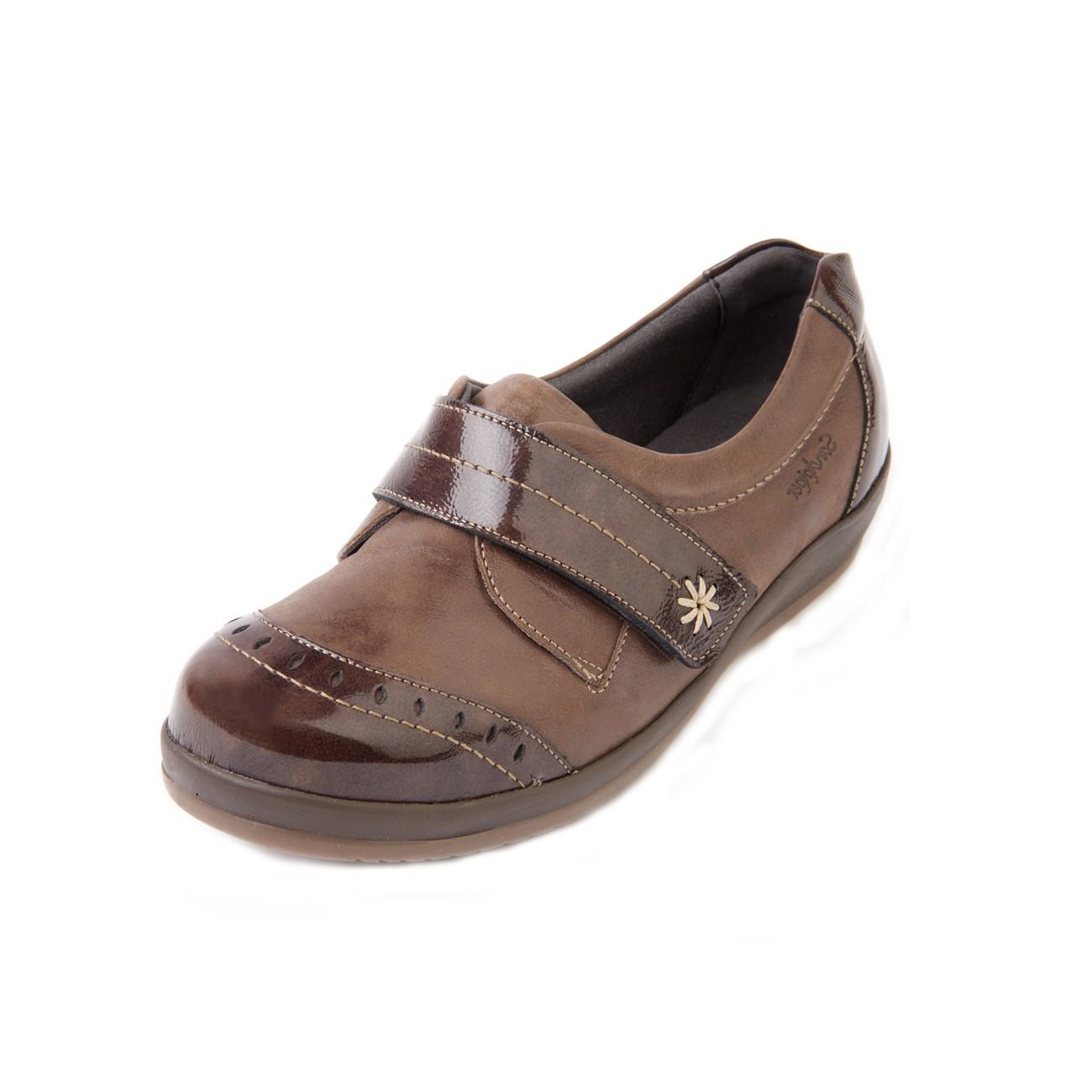 Fenwick Roomy Shoe and ladie's wider fitting footwear