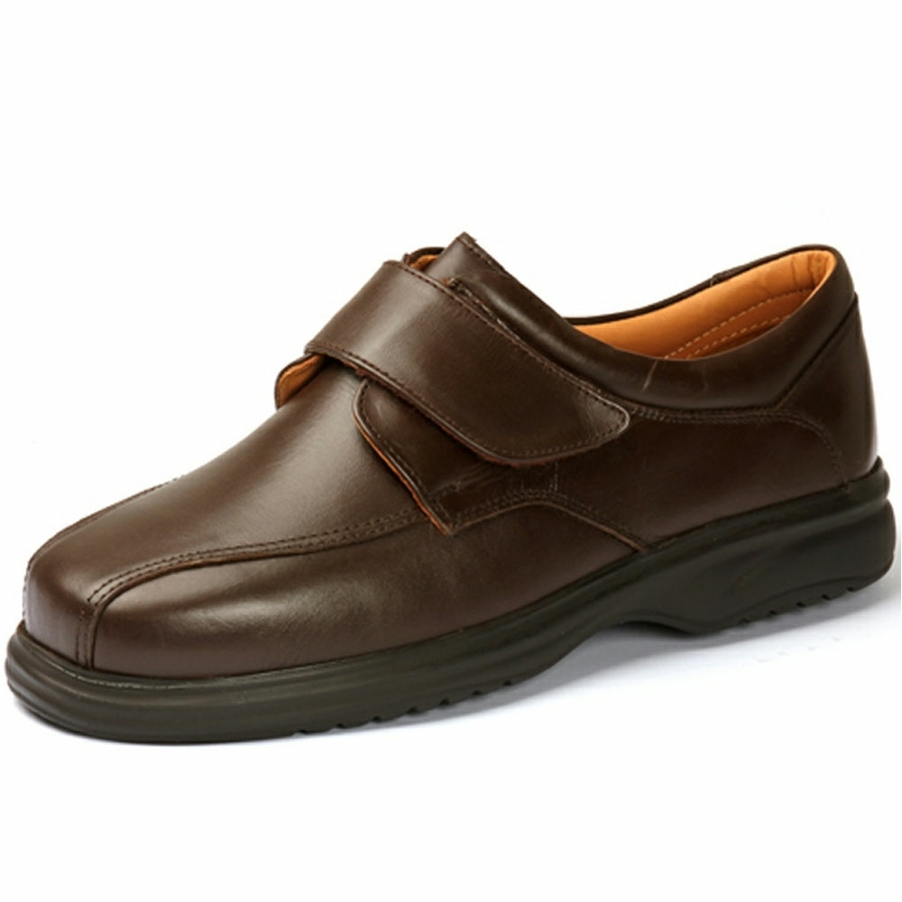 Tony Extra Roomy Shoe and men's wider fit shoes
