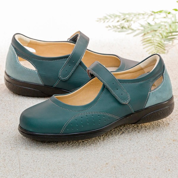 Paradise Extra Roomy Shoe and ladie's wider fitting footwear
