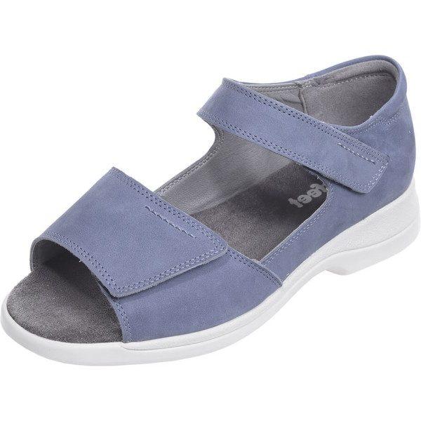 Ladies Wide Fitting Roomy Adjustable Sandal
