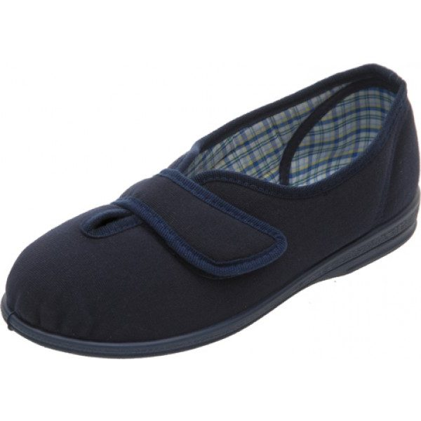 Sarah Extra Roomy Ladies Slipper and ladies wider fitting slippers, shoes, sandals and boot.