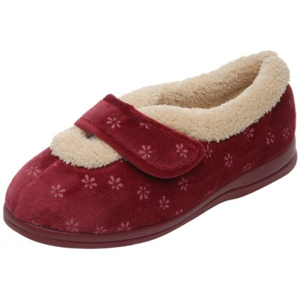 Cosyfeet Sleepy Extra Roomy Ladies Slipper