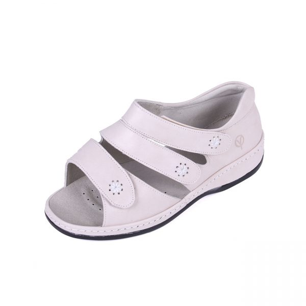 6ced1ae23874 Cara Roomy Ladies Sandal - Wide Shoe