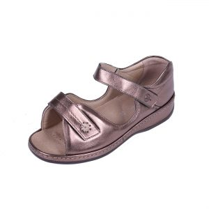 Sandpiper Coral Sandal adjustable and roomy for swollen feet